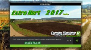 "Карта ""ExtreNort 2017 v1 beta"" для Farming Simulator 2017"