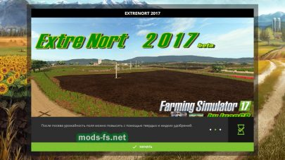 Карта «ExtreNort 2017 v1 beta» для Farming Simulator 2017