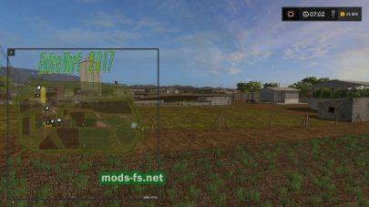 Карта с огородом для Фермер Симулятор 2017