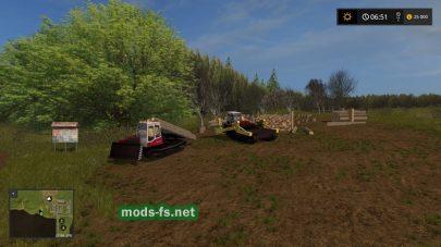 Лесозаготовка в игре Farming Simulator 2017