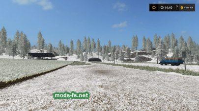 Мод на снег для игры Фермер Симулятор 2017