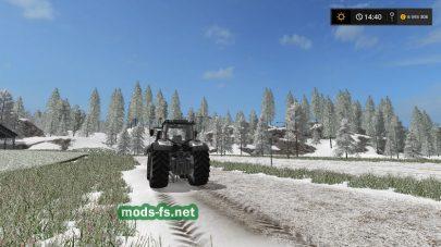 Карат со снегом для Фермер Симулятор 2017