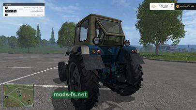 Старый трактор ЮМЗ 6 для FS 2015