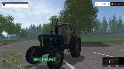 Трактор ЮМЗ 6 для Фермер Симулятор 2015