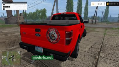 Ford F150 Fire