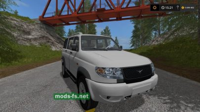 Мод УАЗ 3163 «Patriot» для  Farming Simulator 2017