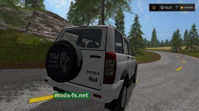 Скриншот мода УАЗ 3163