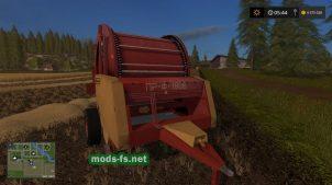 Тюковщик круглых тюков для игры Farming Simulator 2017