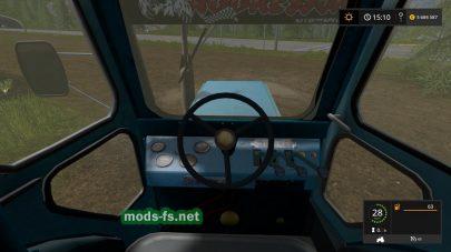 Мод трактора Т-40 АМ для Фермер Симулятор 2017