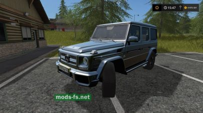 Mercedes-Benz G65 для Farming Simulator 2017