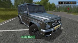 Mercedes-Benz G65 mods FS 2017