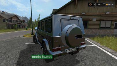 Скриншот мода Mercedes-Benz G65