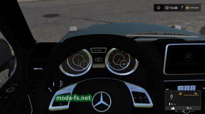 Мод автомобиля Mercedes-Benz G65 как у физрука
