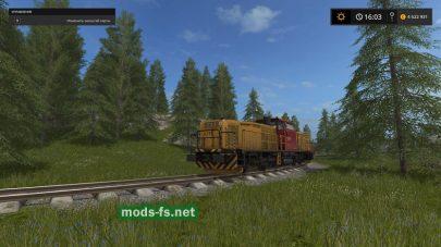 Мод на автоматическое движение поездов в FS 2017