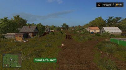 «Средняя полоса России» для игры Farming Simulator 2017
