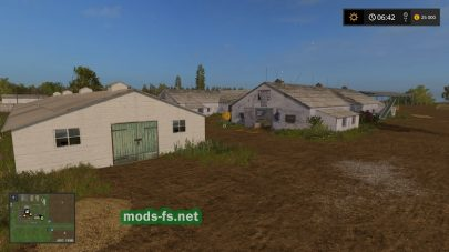 Карта России для игры Farming Simulator 2017