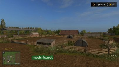 Мод русско карты для Farming Simulator 2017
