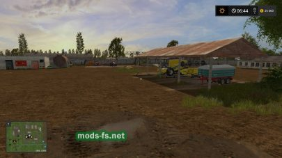 Старый колхоз в игре Farming Simulator 2017