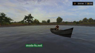 Рыбалка в игре Farming Simulator 2017