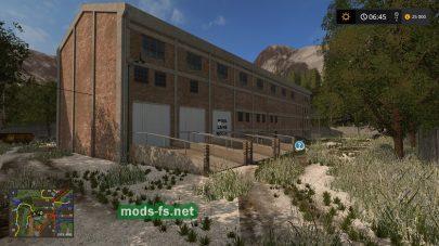 Заснеженная карата для Farming Simulator 2017
