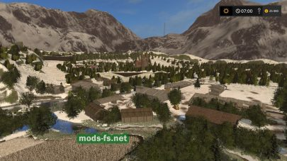 Vieille France map FS 2017