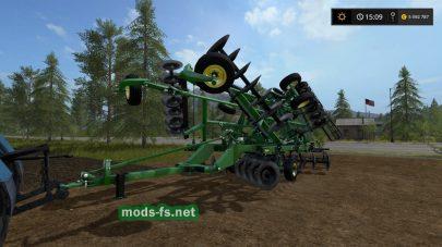John Deere 2720 Disk Ripper для Farming Simulator 2017