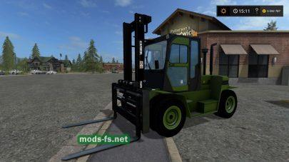 """""""CLARK C80D"""" для игры Farming Simulator 2017"""