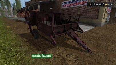 Мод TT-1 для животных в Farming Simulator 2017