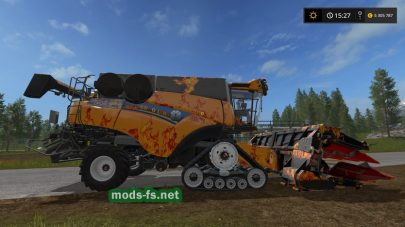 New Holland Cr1090 для Farming Simulator 2017