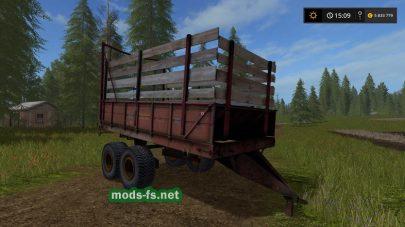 ПРТ-10 — прицеп для силоса в игре Фермер Симулятор 2017