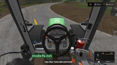 Скриншот мода Valtra T234 WR