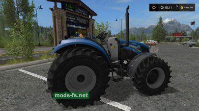 Мод «New Holland T4 75 Garden Edition» для Farming Simulator 2017