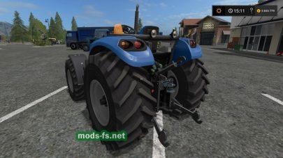 Мод трактора без кабины для FS 2017