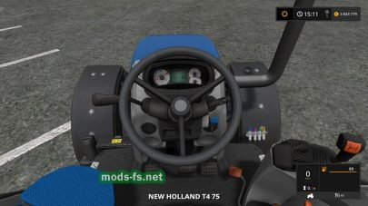 Мод Мод «New Holland T4 75 Garden Edition
