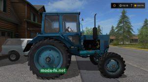 Мод синего МТЗ 82 для Фермер Симулятор 2017