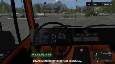 Скриншоты модов Mercedes Unimog 1600