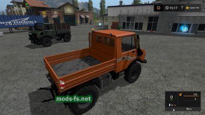 Mercedes Unimog 1600 для Farming Simulator 2017