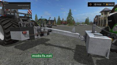 Мод сцепки для трамбовки силоса в игре FS 2017