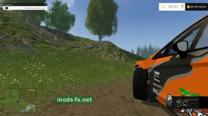 Ford Fiesta Wrc Race v1 для Farming Simulator 2015