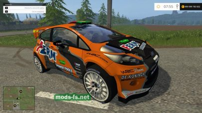 Мод спортивного автомобиля Ford Fiesta Wrc Race