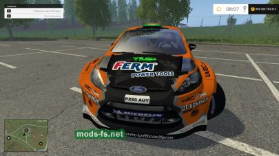 Мод Ford Fiesta Wrc Race для FS 2017
