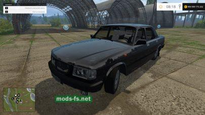 Автомобиль «Волга» для Farming Simulator 2015