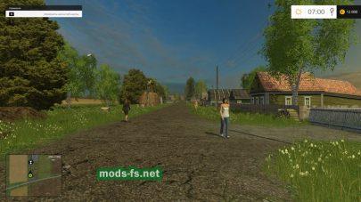 Карта украинской деревни для Farming Simulator 2015