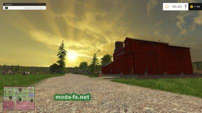 Мод карты «Синява» для Farming Simulator 2015