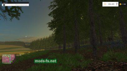 Лес на карте «Синява»