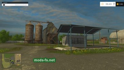 Мод карты «Новая Слобода» для Farming Simulator 2015