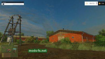 Карта Совхоз Родина для Farming Simulator 2015
