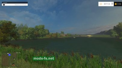 Озеро на карте Совхоз Родина