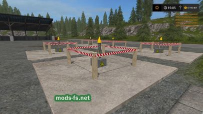 Мод на фейерверк Farming Simulator 2017