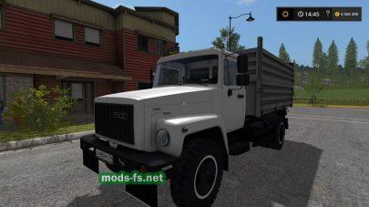 ГАЗ-3309 для Farming Simulator 2017